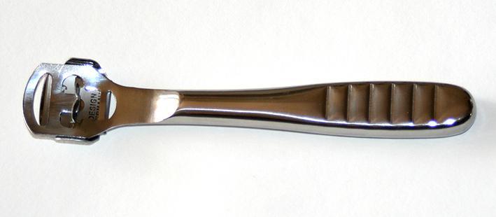 Инструмент для срезания кромки кожи