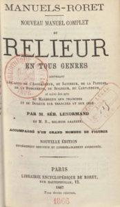 Manuel du Relier