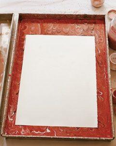 Мраморная бумага