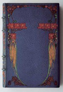 Переплет книги: George Sand «La petite Fadette» (Paris, 1912). Мастер переплета Г.Левицкий