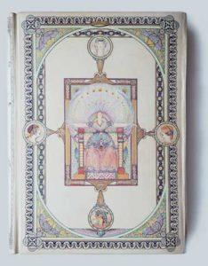 Передняя крышка переплета книги: Th.Banville «Les Princesses» (Paris, 1904). Мастер переплета Г.Левицкий