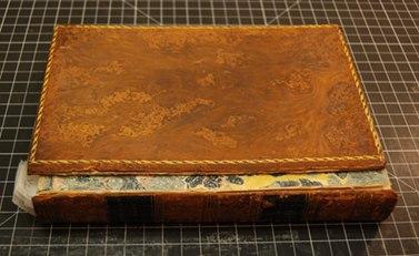 Реставрация кожаных переплетов с использованием японской бумаги