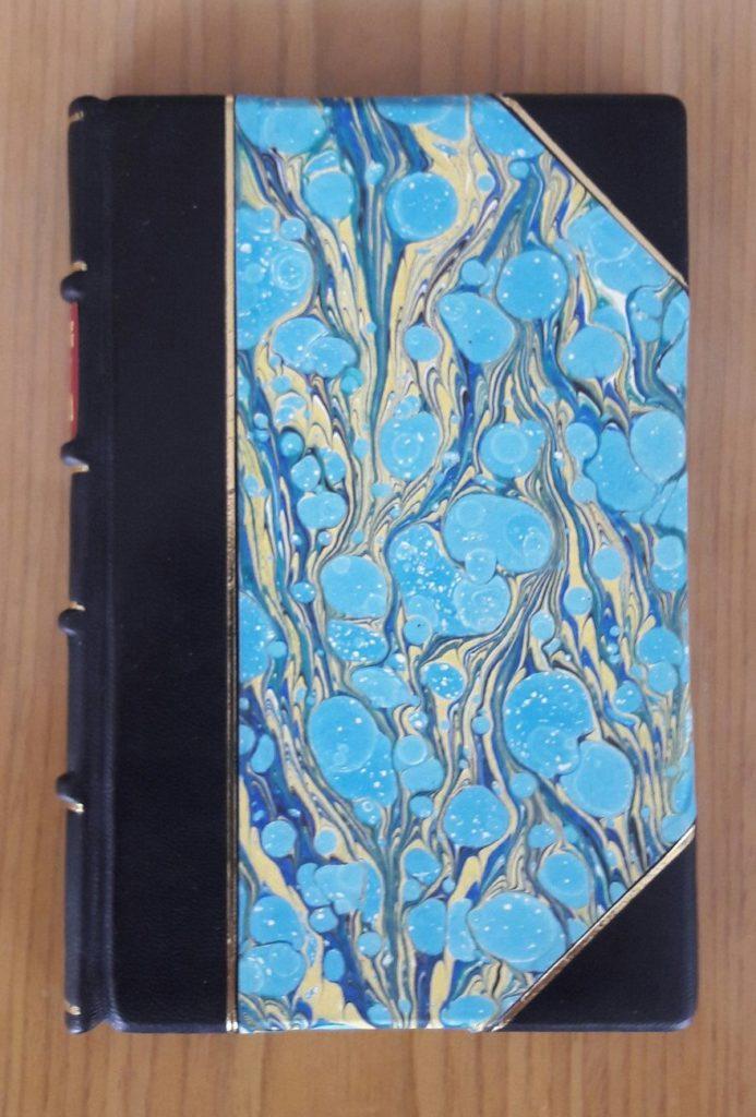 """03 5 e1479666479964 693x1024 - Полукожаный переплет """"Горе от ума"""", 1873 года издания"""