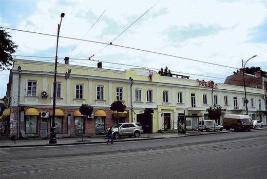 Дом, в котором располагалась переплетная мастерская Киселева в Одессе