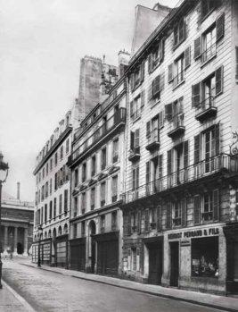 Дом, в котором располагалась переплетная мастерская Г.Левицкого на улице Одеон, 22, в Париже