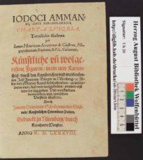 Игральные карты Аммана Йоста