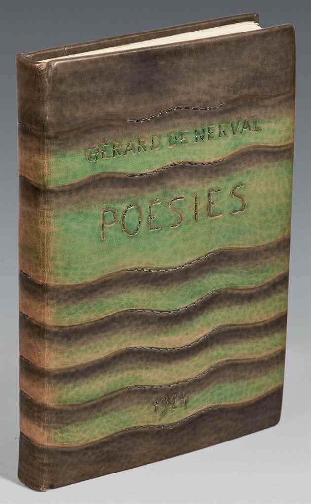 Germain Bnf 04 - В Париже открылась выставка переплетов Луизы-Дениз Жермен