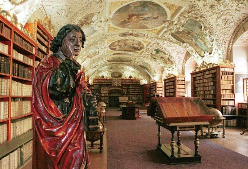 Библиотека Страговского монастыря