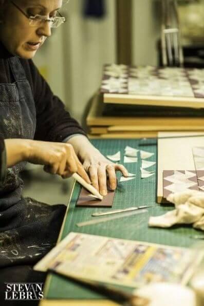 metier d art et d excellence anne lise courchay parchemin designer - Интервью с переплетчицей Анн-Лиз Курше