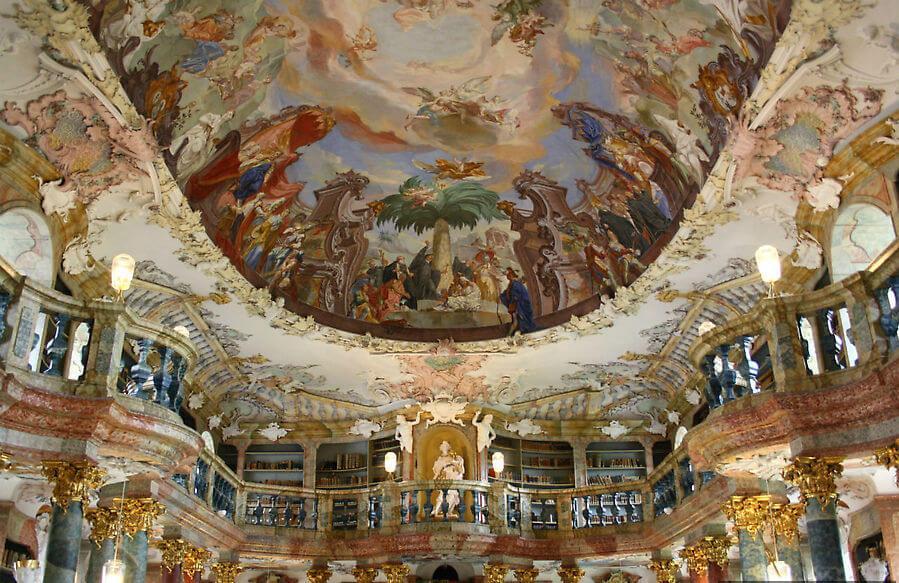 33333 - Библиотека аббатства Виблинген