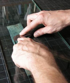 английские шерфовальные ножиАнглийские шерфовальные ножи