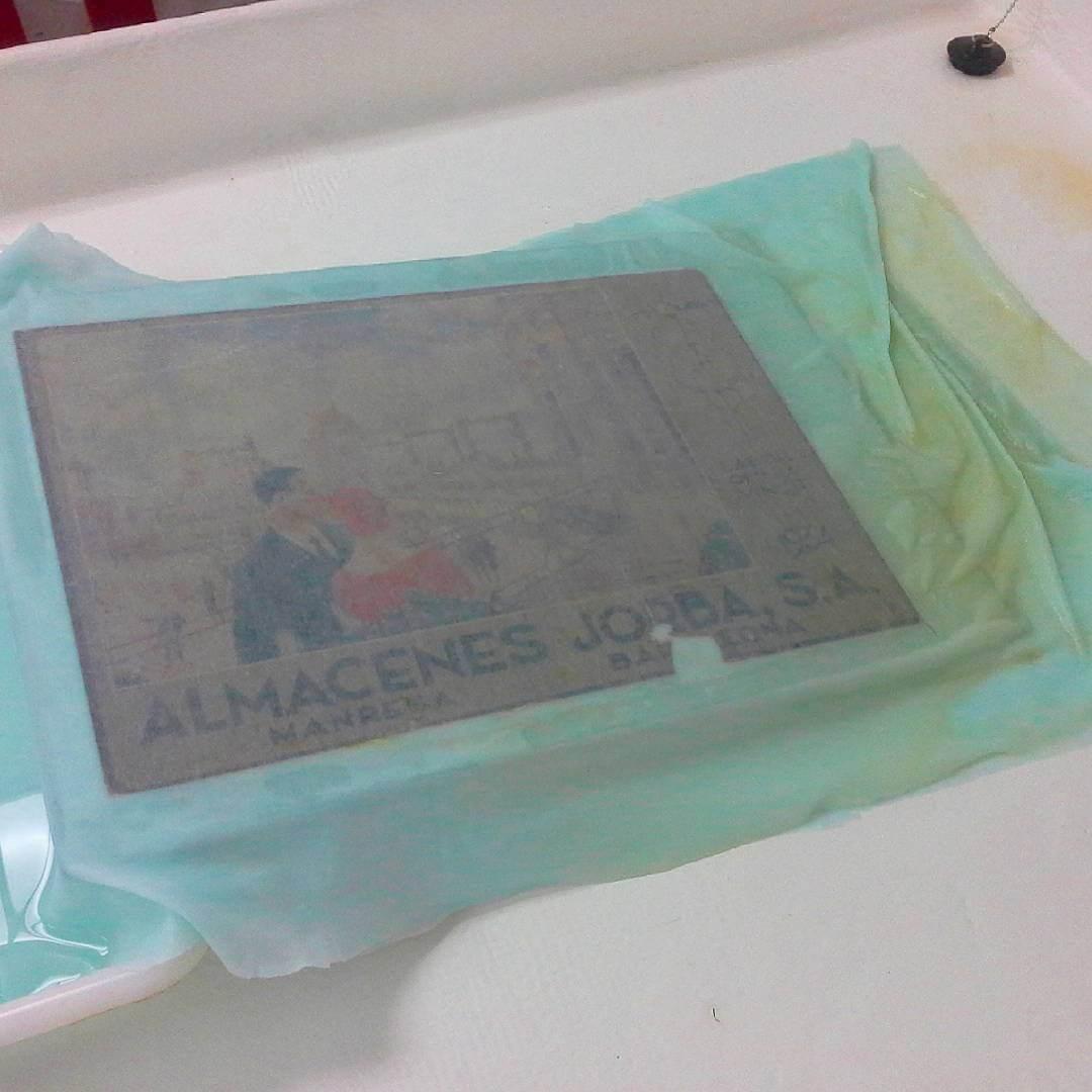Капиллярная очистка бумаги