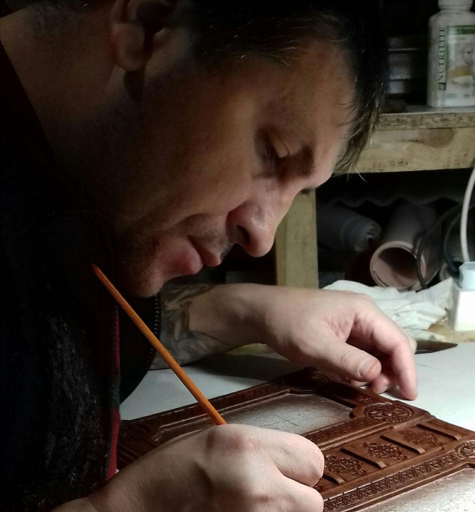 G - МК по кожаным вставкам от Геннадия Темнышева